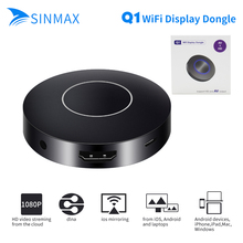 HD + AV sortie Q1 Miroir Dongle wifi affichage récepteur Android TV bâton HDMI + USB + Audio vidéo interface VS chromecast 2 dab bâton