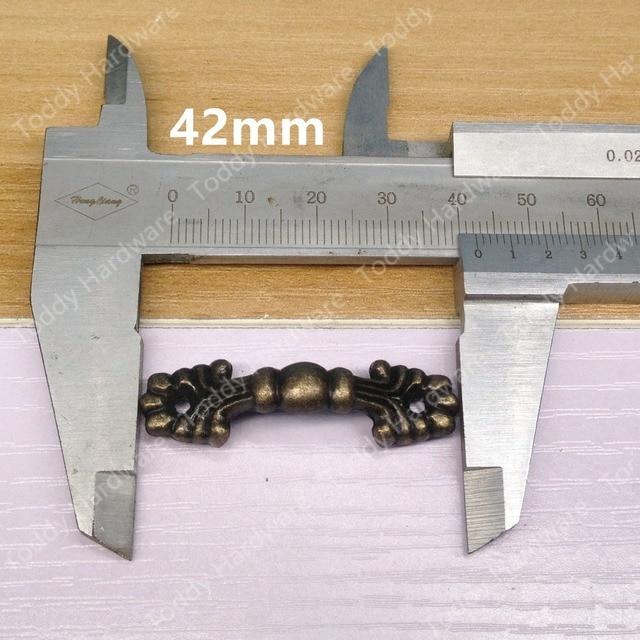 5pcs 4212mm Vintage Style jewelry box pulls Bronze Kitchen Medicine