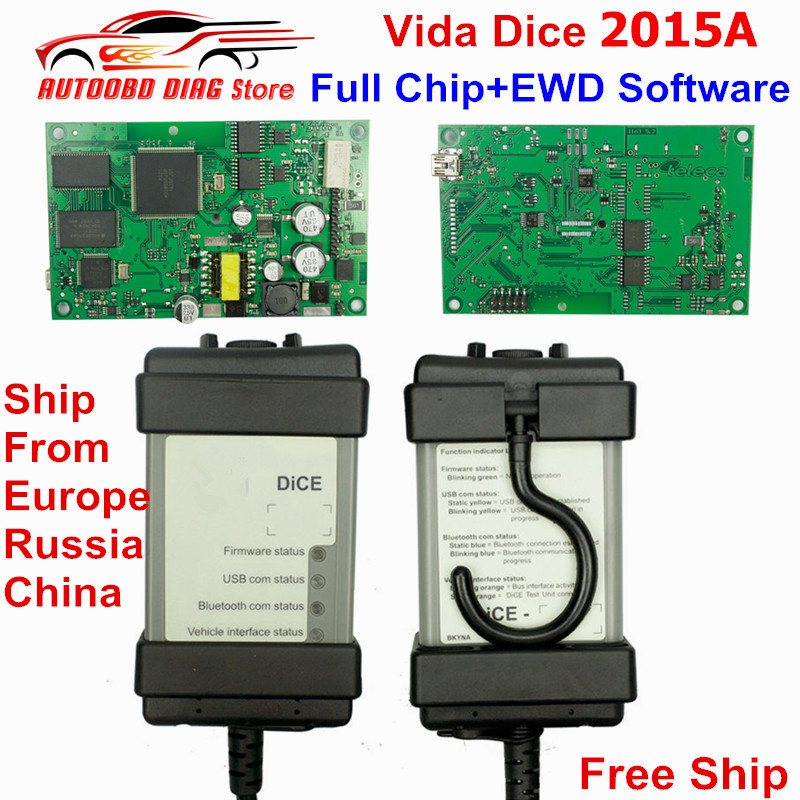 2019 Best Full Chip For Volvo Vida Dice 2015A Diagnostic Tool Multi Language For Volvo Dice Pro 2014D Vida Dice Green Board-in Car Diagnostic Cables & Connectors from Automobiles & Motorcycles    1
