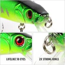 Goture 5pcs/lot Bass Minnow Fishing Lures Wobblers Crankbaits Hard Artificial Baits Fishing Tackle 14cm/23g Diving 0.5m -1.5m