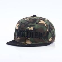 Como Snapback Compton Fashion Men Cap Camouflage Hip Hop Baseball Hat for For Bones 4 Style