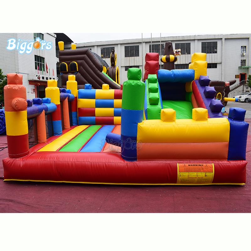 YARD Rainbow Color Customize Logo And Theme Commercial Inflatable Bouncy Castle Bounce House With Slide YARD Rainbow Color Customize Logo And Theme Commercial Inflatable Bouncy Castle Bounce House With Slide