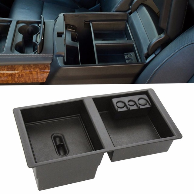 Center Console Insert Organizer Tray For Chevy Silverado 2017 Tahoe Suburban Sierra Yukon Vehicles Armrest Box