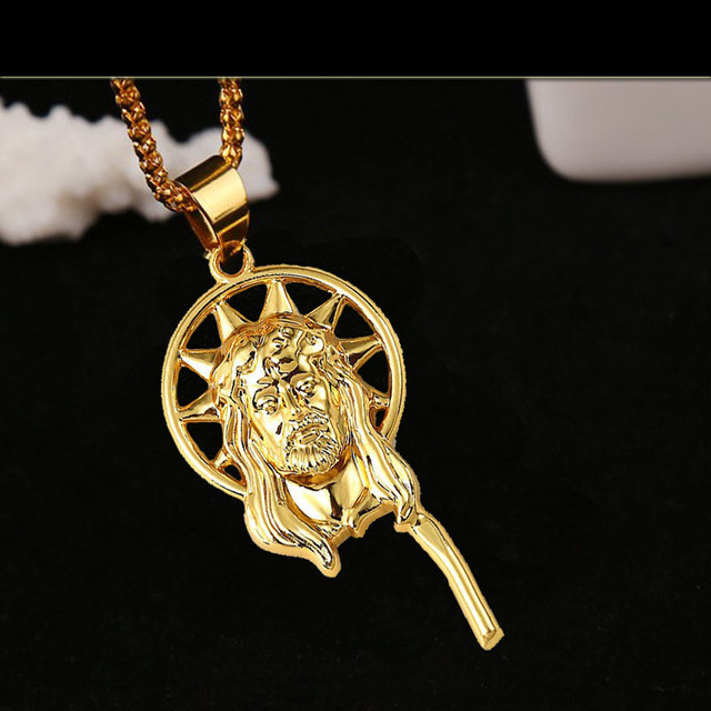 Hip hop goldkette  Aliexpress.com : Gothic punk hip hop rapper kühlen JESUS Christus ...