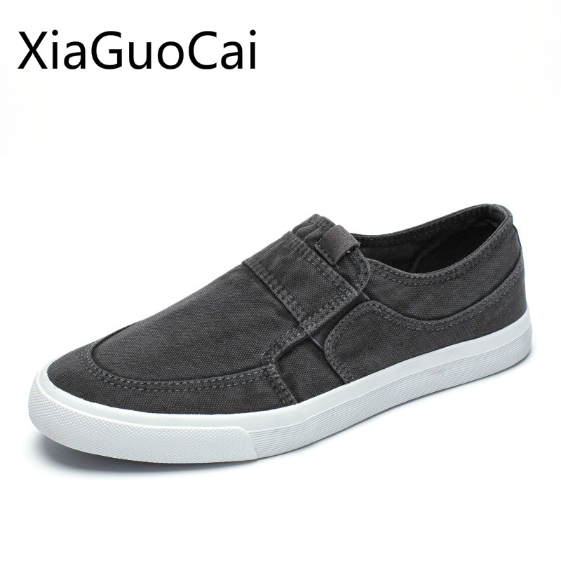 Canvas Shoes Flats-Sneakers Men Loafers Latex Fashion Spring Newest-Style And Autumn title=