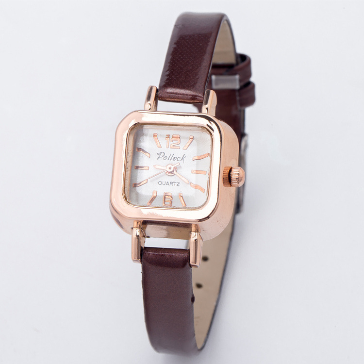 watches for skinny wrists promotion shop for promotional watches 2017 fashion small dial ultra thin leather quartz wristwatches wrist watch bracelet for women ladies girls