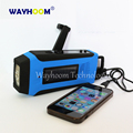 Hand Crank Radio AM/FM/WB Solar Radio Phone Emergency Charger Auto Scan LCD Display