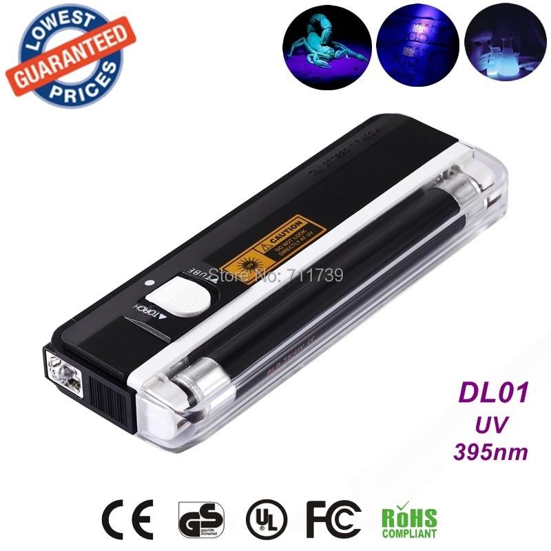 AloneFire DL01 UV light portable uv led flashlight for urine detector portable led flashlight