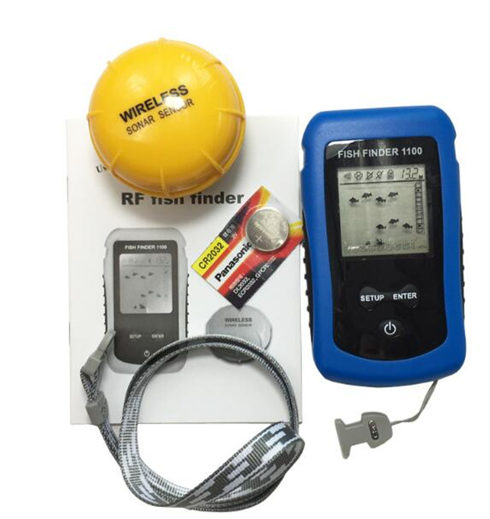 Portable Wireless RF Fish Finder Portable Wireless RF Fish Finder