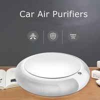 2017 Newest Intelligent Car Air Purifier Supplies Anion Air Purifier Good For health Car Accessories High Quality