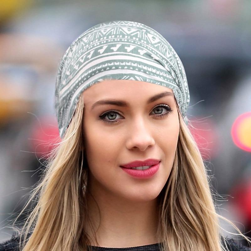 Jaunas sievietes Īpaši plaša elastīga galvas lente Deju galvas - Apģērba piederumi