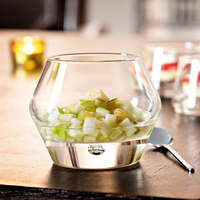 Creative Lead free Crystal glass beer cups Cocktail Glass round salad fruit cup wine cup Bar Hotel Party wedding Drinking ware