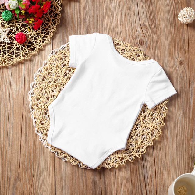 Baby's Cotton Short Sleeve Romper
