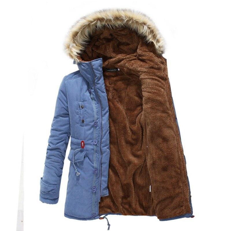 2016 yeni kış moda erkekler Yüksek Kalite Kış Ceket Erkekler Marka Sıcak Kalınlaşmak Coat Ünlü Pamuk-Yastıklı Parkas Zarif iş