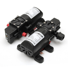 1pc New Small Safe Self Priming Pump DC12V 70W 130PSI 6L/Min High Stable Pressure Mayitr Diaphragm Water Pump 2 styles