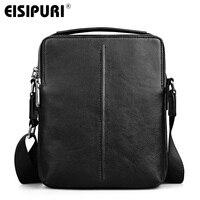 EISIPURI 100 Cow Leather Men Messenger Bag Casual Business Vintage Men S Bag Genuine Leather Shoulder