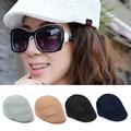 New Spring Summer Unisex Beret Hat Casual Boina Feminina/Masculina Mesh Flat Cap Boinas Para Hombres Fashion Sun Caps Hats V040