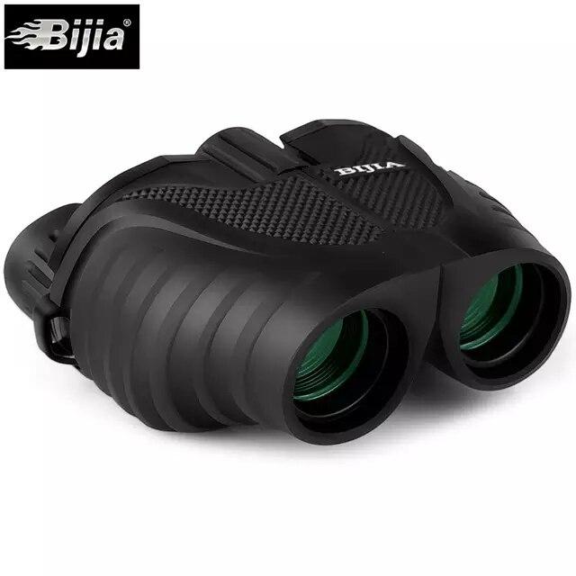 BIJIA 10x25 Mini Fernglas Professionelle Fernglas Teleskop Opernglas für Reise Konzert Outdoor Sport Jagd werkzeuge
