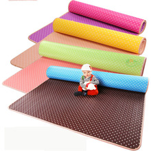 Hot! Solid Baby foam Play Mat / double-faced Crawl Pad ,Play+Safety+Gym+sport floor Mats for Kids Climb,thicknes0.5cm