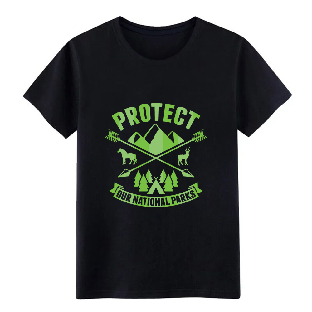 National Park Protect our National Parks t shirt create cotton O-Neck slim Graphic New Fashion Spring Novelty shirt image