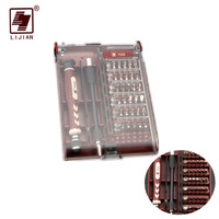 LIJIAN 45 IN 1 Multi Purpose Precision Magnetic Screwdriver Set Kit Phone Repair Tools Sets For