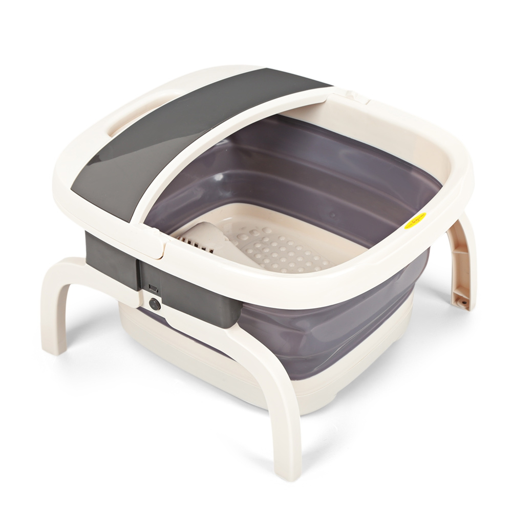 688B Foldable Foot Spa Massager with Bubble Wave Electric Heating