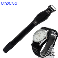 20mm Hot Sale Fashion Nato Long Strap Watch Black Blacelet Watch Men Accessories For CASIO