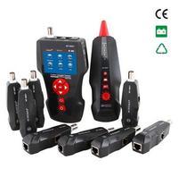 Бесплатная доставка, Noyafa NF 8601W Многофункциональный сетевой кабель тестер длина и тестер точки останова