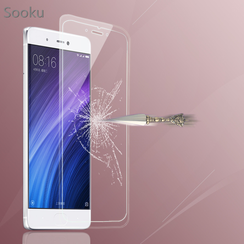 100pcs 9H Tempered Glass Explosion-proof Screen Protector For Xiaomi REDMI NOTE 2 3 MI 2 3 4 4I 4C REDMI 1 2 3 no packaging box