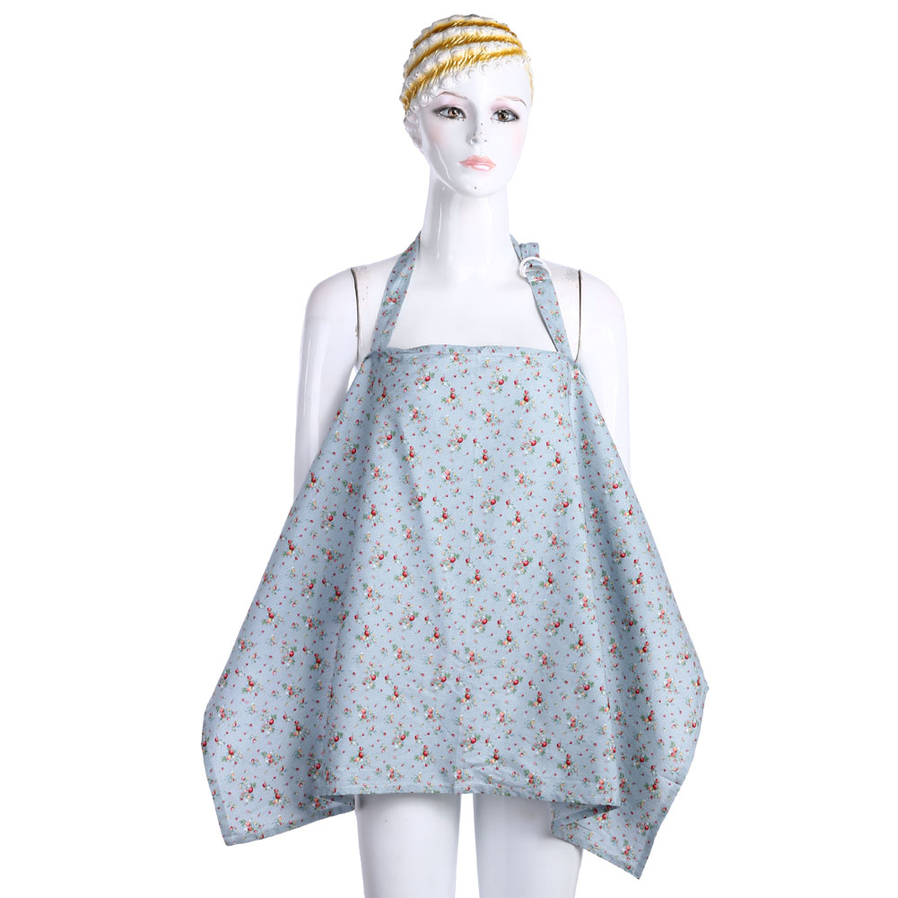 Maternity Women Breastfeeding Cover Nursing Covers Shawl Breast Feeding Covers Flower Printed Cotton Covers For Feeding Baby
