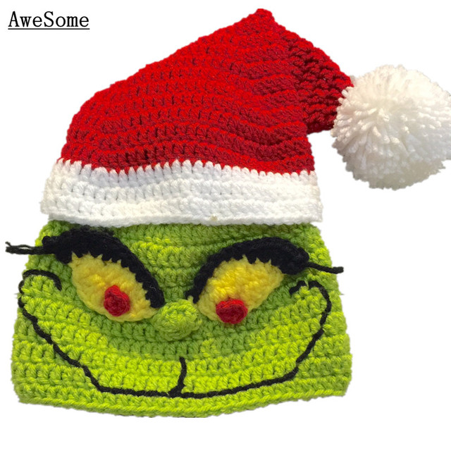The Grinch Inspired Santa Hat 107fafb88c5