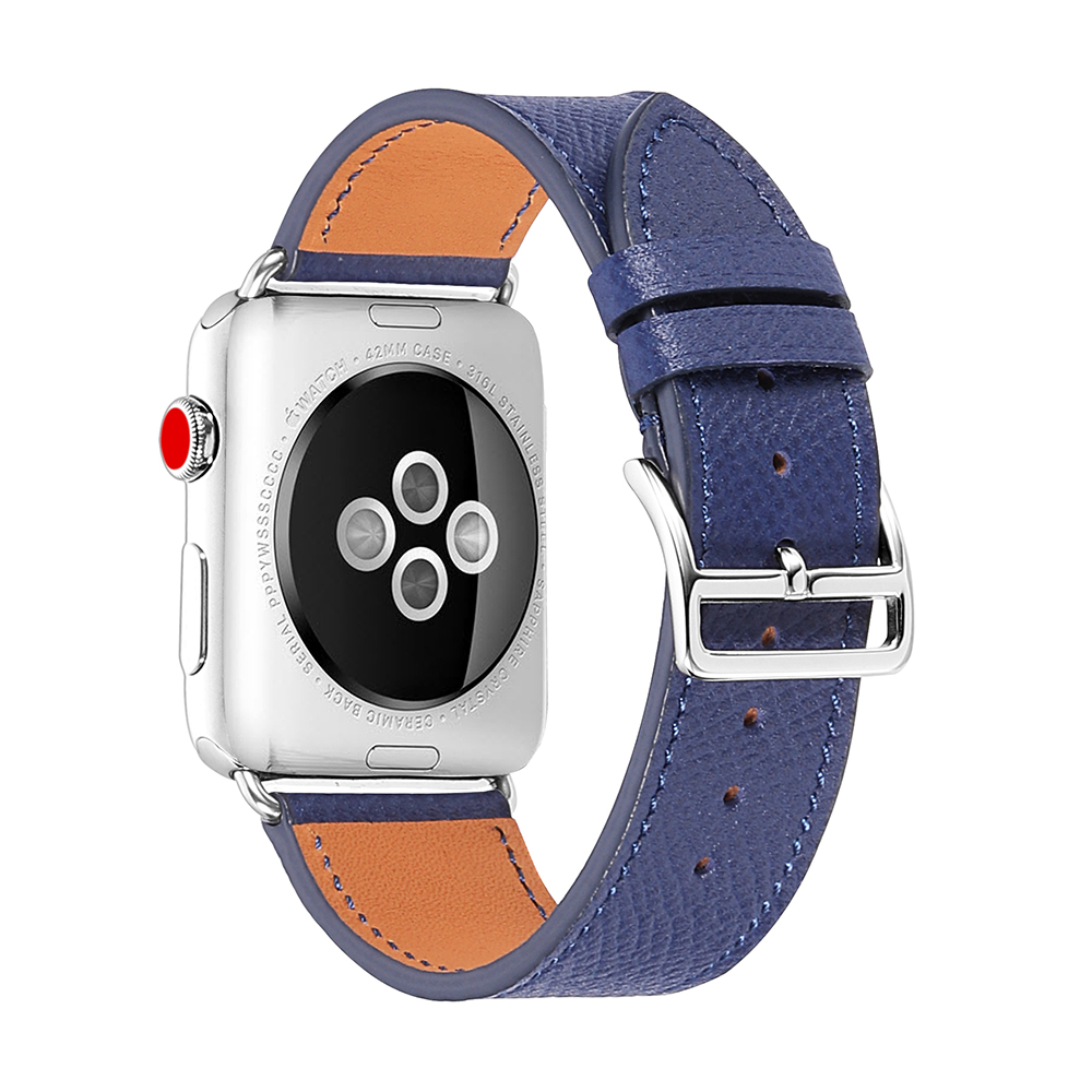 CHIMAERA Leather WatchStrap Replace For IWatch  Series 1/2/3/4 Men Women For 38mm 42mm 40mm 44mm Apple Watch Band
