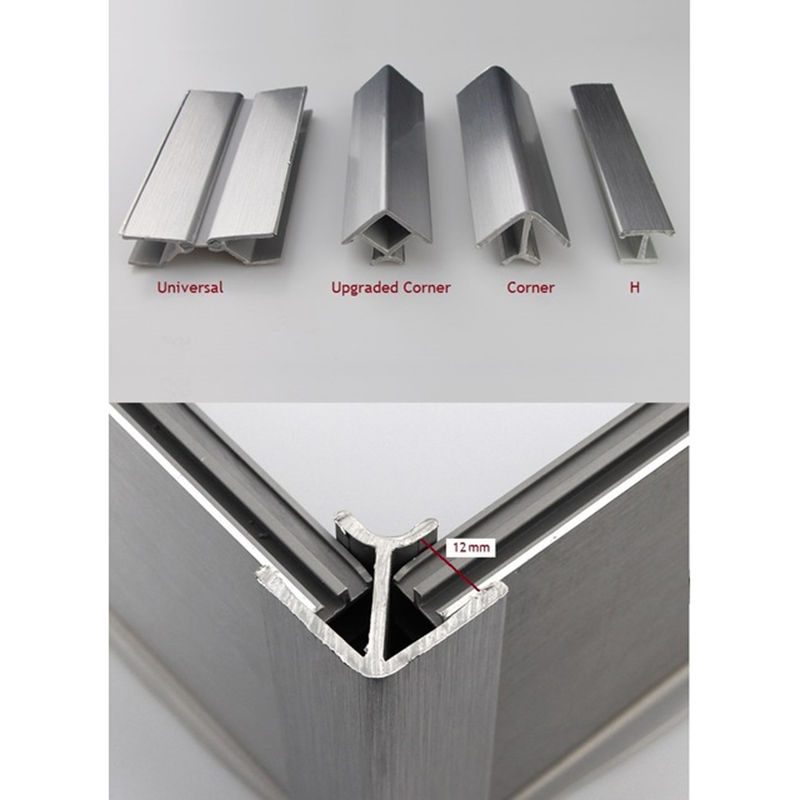 20Pcs/Lot Kitchen Plinth Corner Connector For Kicker Toekick Panel Connecting Brush Aluminum Foil PVC Panel