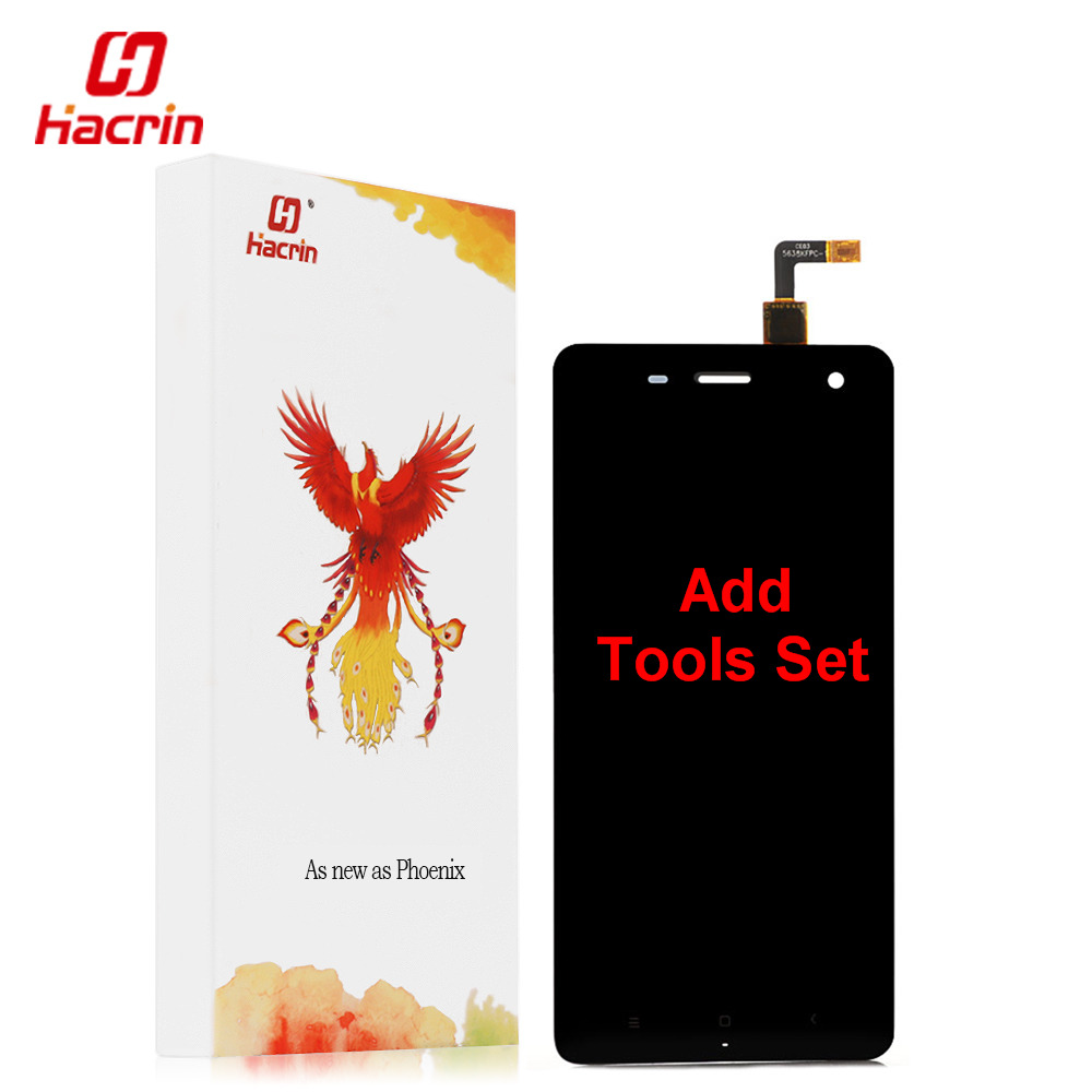 hacrin Xiaomi Mi4 LCD Display Touch Screen Digitizer Tools Set 100 New Assembly Replacement For M4