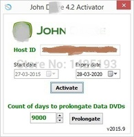 New John D Service Advisor 4 2 Activator Prolongation Tool Integrated PLD Files Encrypt Decrypt Tool