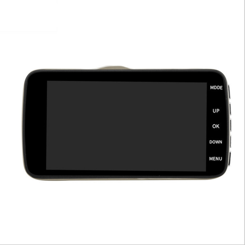 Car DVR 4 Inch IPS Screen Auto Camera Dual Lens FHD 1080P Dash Cam Video Recorder Night Vision G-sensor Registrator