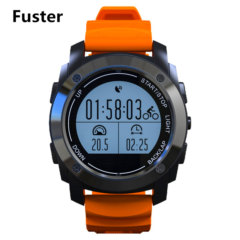 Fuster S928 Sport Smart Watch GPS Bluetooth Smartwatch for Android and IOS Smart Phone with Altitude Meter Thermometer smart baby watch q60s детские часы с gps голубые