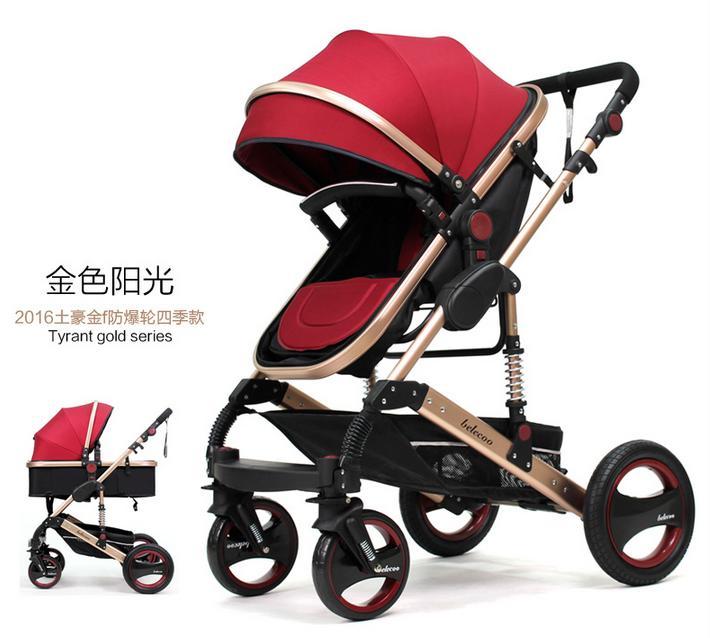 Bassinet Stroller System,High Landscape Stroller Kids,Baby Trolley ...