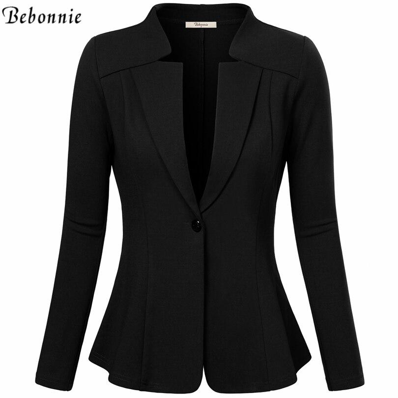 Женщин блейзеры и куртки осень тонкий bodycon дамы blazer офис рабочая одежда бизнес куртка топ красный черный элегантный верхней одежды