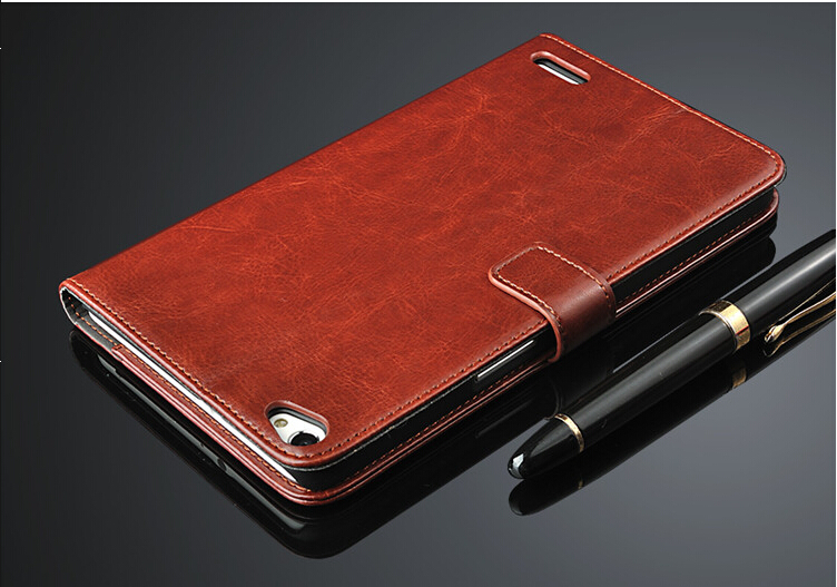Free shipping Leather Wallet Case for Huawei honor x1 phone mediapad x1 Mobile Phone Bag Cover
