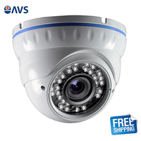 High Definition 2.8 12mm Manual Varifocal Lens 1000TVL Indoor Dome Security Camera for Home/Office/Hotel