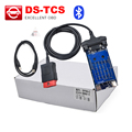 TCS with bluetooth TCS PRO Latest 2014.R2/R3 free activated Diagnostic auto Scanner Tool OBD2 obdii /Truck/Generic 3 IN 1