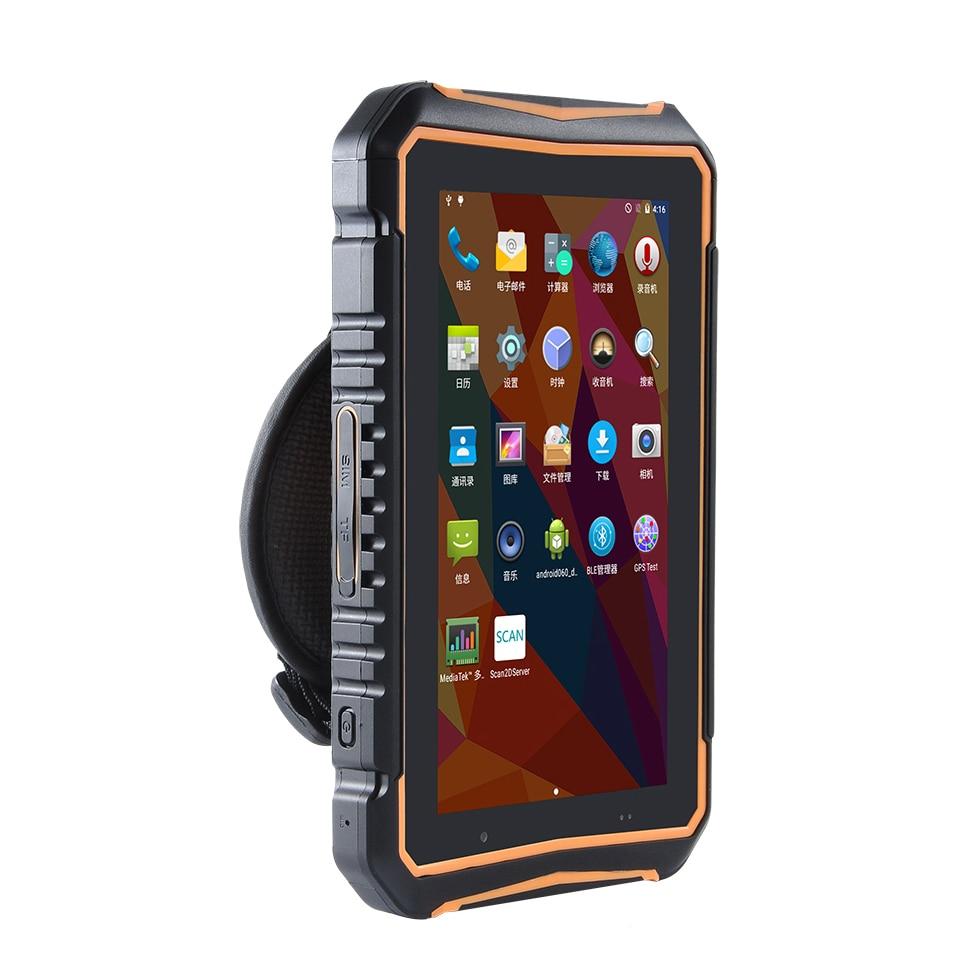 android 7 0 os tablet robusto industrial handheld terminal de scanner de codigo de barras do