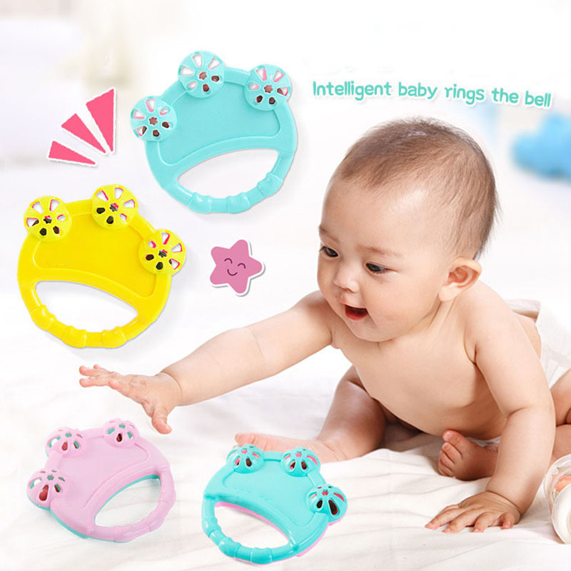 Baby Rattle Mobiles Toys Infant Music Hand Shake Bell Ring Bed Crib Toy For Newborn Educational Toys 0-12 Months Baby Speelgoed