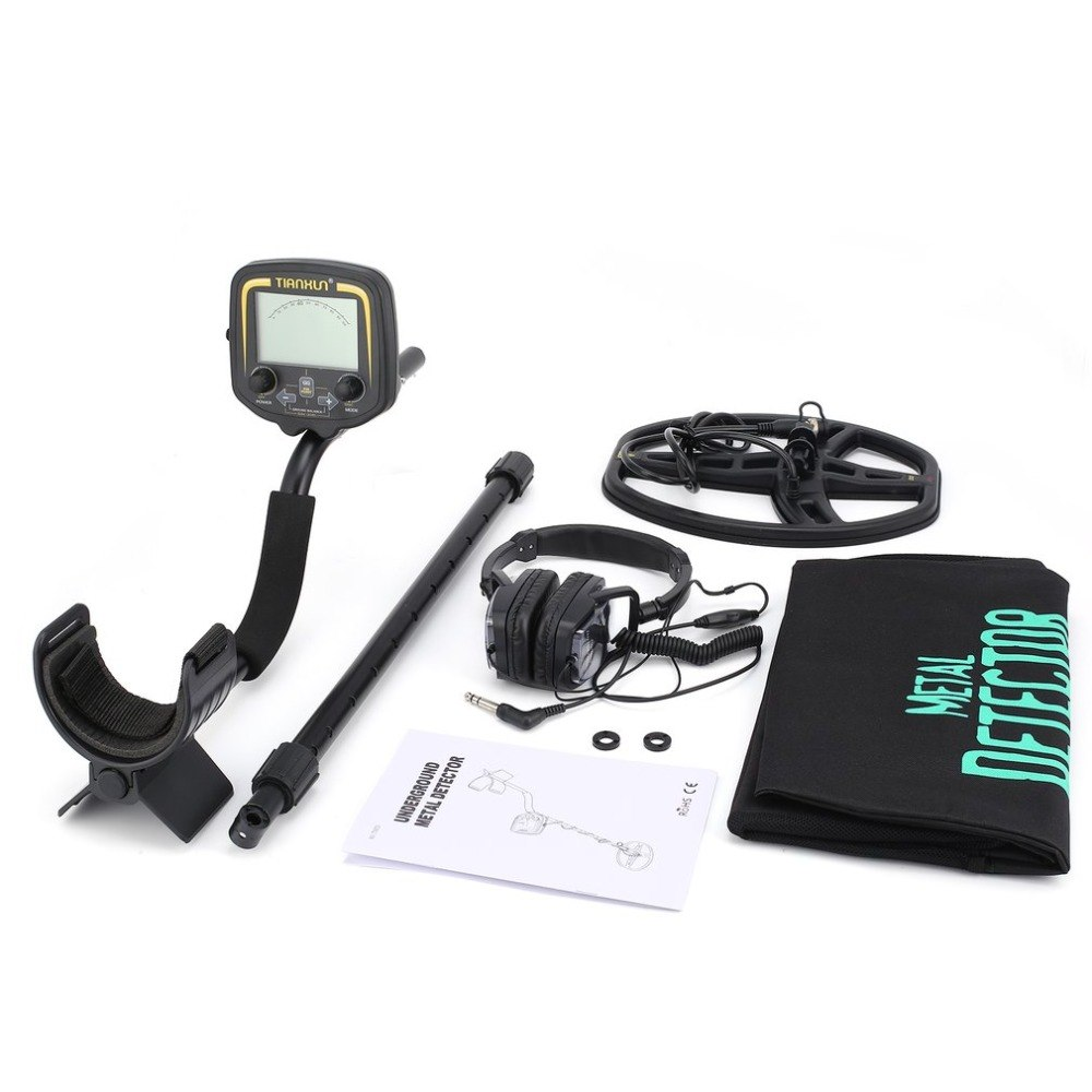 TX-850 Professionale Metropolitana Metal Detector Palmare Treasure Hunter Gold Digger Finder Con La Cuffia Display LCD