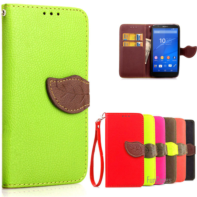 super popular 7b689 5676d US $6.46 |Phone Case for coque Sony Xperia E4 Flip Case For Cover Sony  Xperia E4 Dual Luxury Wallet Card Holder Stand Case For Sony E4 E 4-in ...