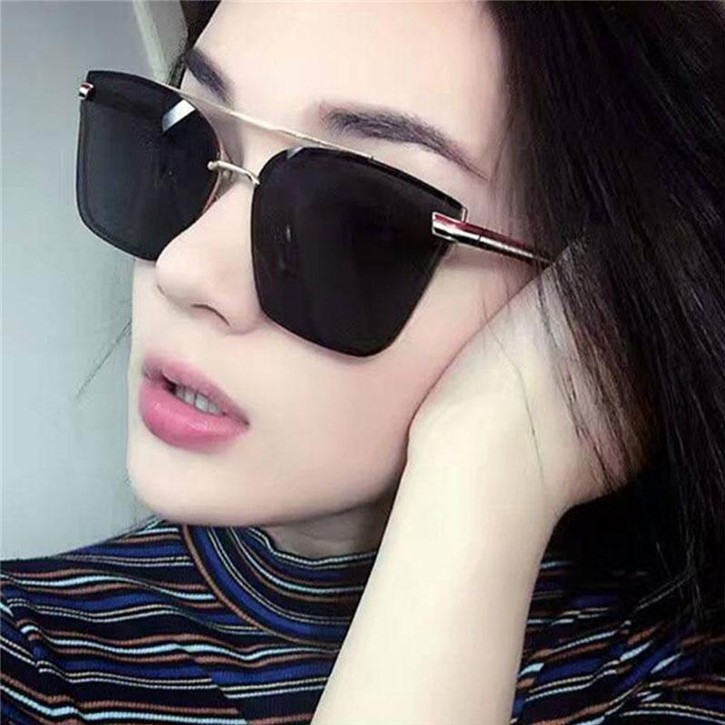 pink dress fashionable women sunglasses Fashion resin girl boss fashion fashion girl women/'s fashion resin