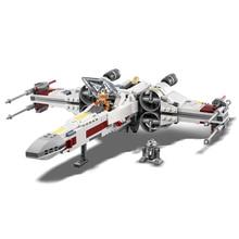 купить Starwars Fighter Star Plan Wars X 75218 Wing Starfighter Model Set Building Blocks Bricks Educational Children Toys по цене 1943.59 рублей