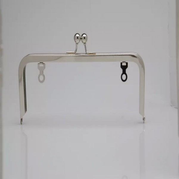 buy nickel metal purse frames and get free shipping on aliexpresscom - Metal Purse Frames
