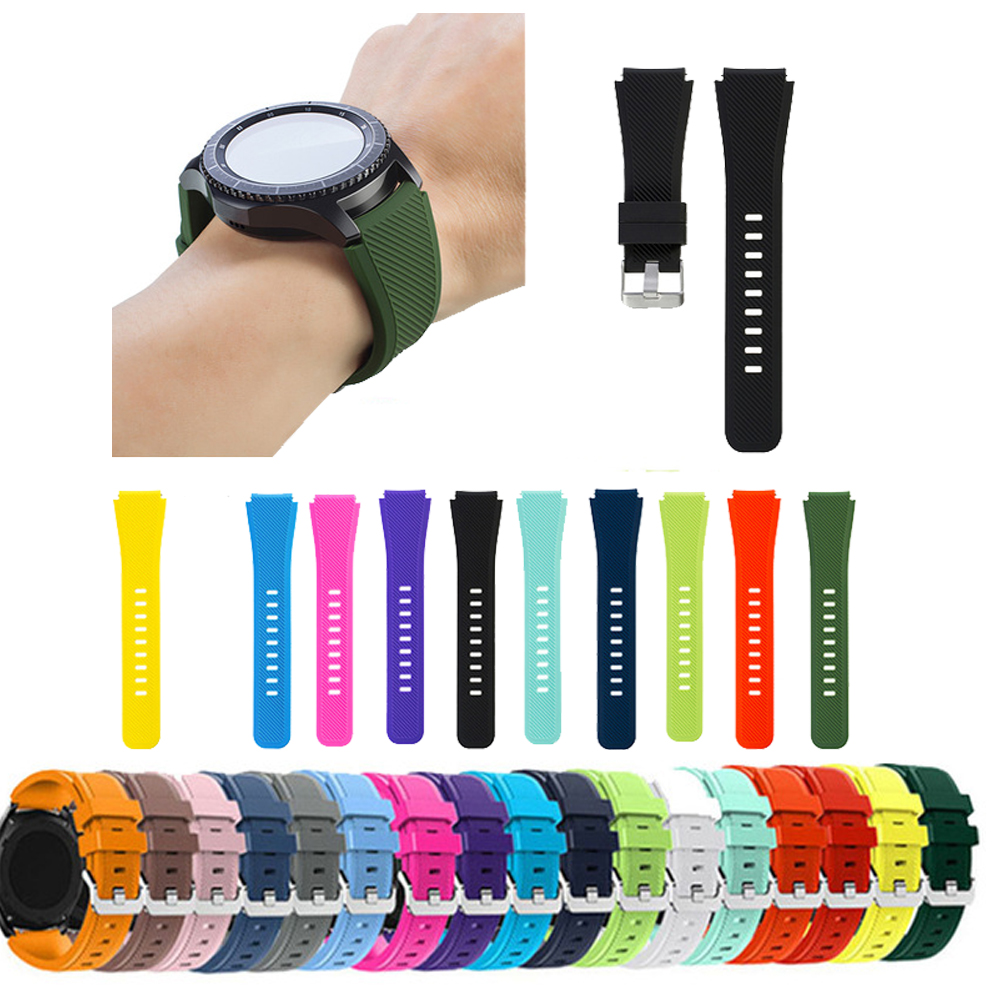 Gear S3 Frontier Wrist Strap For Samsung Galaxy Watch 46mm Huawei Watch Gt Strap 22mm Watch Band Correa Amazfit Xiaomi Bracelet
